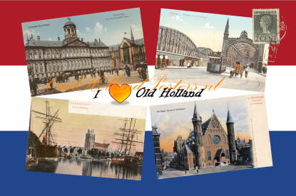 I love Old Holland 2, Amsterdam, Rotterdam, The Hague and Dordrecht